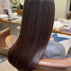 艶髪 ナチュラル 髪質改善トリートメント トリートメント ヘアスタイルや髪型の写真・画像