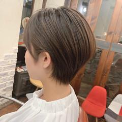 小顔ショート 大人可愛い ショート ショートヘア ヘアスタイルや髪型の写真・画像