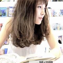 モテ髪 ショートバング 爽やか 外国人風 ヘアスタイルや髪型の写真・画像