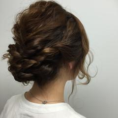 ヘアアレンジ ロング 波ウェーブ ヘアスタイルや髪型の写真・画像
