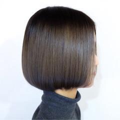 ナチュラル 大人女子 ボブ 色気 ヘアスタイルや髪型の写真・画像