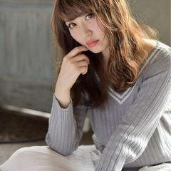 フェミニン 外国人風 大人女子 大人かわいい ヘアスタイルや髪型の写真・画像