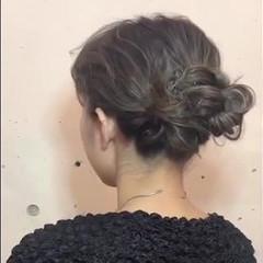 ヘアアレンジ ハイライト 3Dハイライト ミディアム ヘアスタイルや髪型の写真・画像