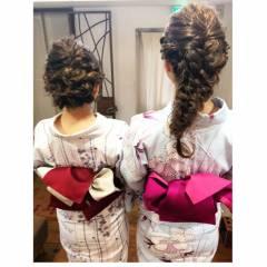 ヘアアレンジ 夏 ヘアスタイルや髪型の写真・画像