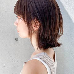アンニュイほつれヘア モテ髮シルエット デート ナチュラル ヘアスタイルや髪型の写真・画像