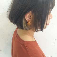 色気 暗髪 ストリート インナーカラー ヘアスタイルや髪型の写真・画像