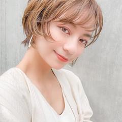 パーマ エレガント デジタルパーマ ショート ヘアスタイルや髪型の写真・画像