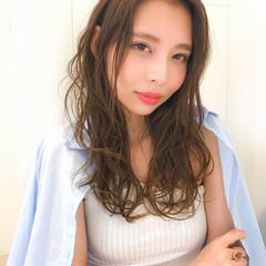 ヘアアレンジ 大人かわいい ミディアム フェミニン ヘアスタイルや髪型の写真・画像