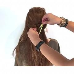 簡単ヘアアレンジ 夏 ヘアアレンジ 色気 ヘアスタイルや髪型の写真・画像