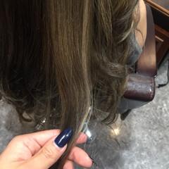 ロング 外国人風 編み込み エクステ ヘアスタイルや髪型の写真・画像
