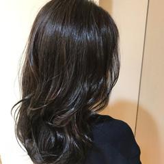 ネイビー ブルージュ ストリート ブルー ヘアスタイルや髪型の写真・画像