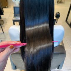ロングヘア ロング 髪質改善 レイヤーカット ヘアスタイルや髪型の写真・画像
