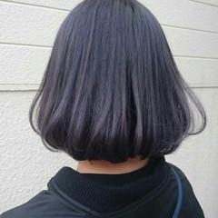 ハイトーン ダブルカラー パープル ストリート ヘアスタイルや髪型の写真・画像