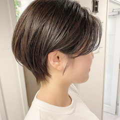 ショートヘア デート 大人かわいい ショート ヘアスタイルや髪型の写真・画像