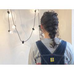 ナチュラル ロング アンニュイほつれヘア ヘアアレンジ ヘアスタイルや髪型の写真・画像