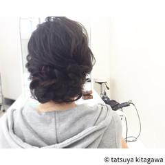 花嫁 二次会 ロング ゆるふわ ヘアスタイルや髪型の写真・画像