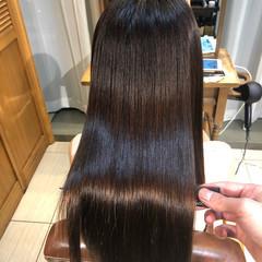 艶髪 髪質改善 ロング トリートメント ヘアスタイルや髪型の写真・画像