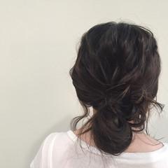 ルーズ セミロング ショート 大人女子 ヘアスタイルや髪型の写真・画像