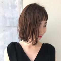 ニュアンス モード ダブルバング レイヤーカット ヘアスタイルや髪型の写真・画像