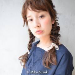 愛され モテ髪 ヘアアレンジ ロング ヘアスタイルや髪型の写真・画像