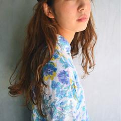 アッシュ 外国人風 ヘアアレンジ ハイライト ヘアスタイルや髪型の写真・画像