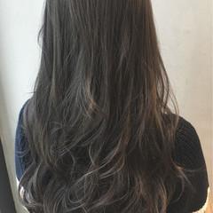ハイライト アッシュ グラデーションカラー 外国人風 ヘアスタイルや髪型の写真・画像