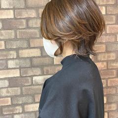 大人ショート イルミナカラー 透明感 ハンサムショート ヘアスタイルや髪型の写真・画像