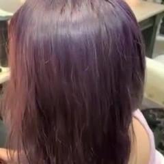 ブリーチオンカラー ブリーチカラー ハイトーンカラー ロング ヘアスタイルや髪型の写真・画像