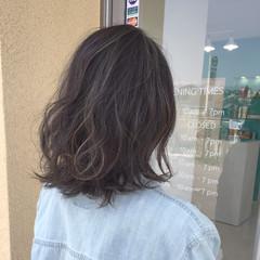 ミディアム アンニュイ ボブ 外国人風 ヘアスタイルや髪型の写真・画像
