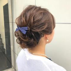 簡単ヘアアレンジ ヘアアレンジ アンニュイほつれヘア デート ヘアスタイルや髪型の写真・画像