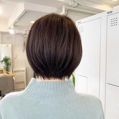 ストリート ミニボブ ショート ベリーショート ヘアスタイルや髪型の写真・画像