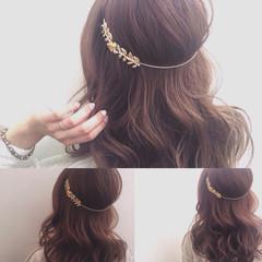 外国人風 カチューシャ 簡単ヘアアレンジ 愛され ヘアスタイルや髪型の写真・画像