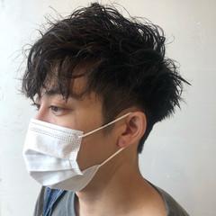 メンズヘア ストリート スパイラルパーマ ツイスト ヘアスタイルや髪型の写真・画像
