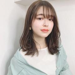 ワンカールスタイリング フェミニン モテ髪 レイヤーカット ヘアスタイルや髪型の写真・画像