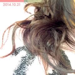 ゆるふわ ナチュラル 黒髪 パーマ ヘアスタイルや髪型の写真・画像