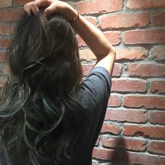 外国人風カラー 個性的 外国人風 ブリーチ ヘアスタイルや髪型の写真・画像