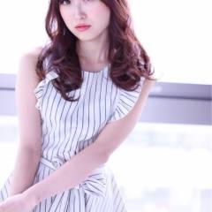 モテ髪 大人かわいい 春 コンサバ ヘアスタイルや髪型の写真・画像