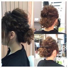 伸ばしかけ ミディアム ボブ ヘアアレンジ ヘアスタイルや髪型の写真・画像