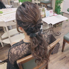 ガーリー 大人可愛い 結婚式ヘアアレンジ ゆるふわセット ヘアスタイルや髪型の写真・画像