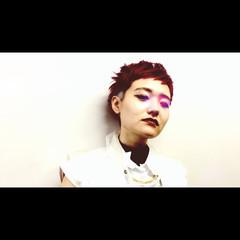 ショート モード ベリーショート レッド ヘアスタイルや髪型の写真・画像