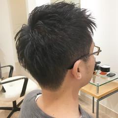 刈り上げ ツーブロック メンズカット ショート ヘアスタイルや髪型の写真・画像