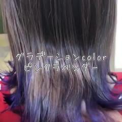 外国人風 外国人風フェミニン 外国人風カラー インナーカラー ヘアスタイルや髪型の写真・画像