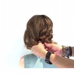 エレガント オフィス 上品 涼しげ ヘアスタイルや髪型の写真・画像