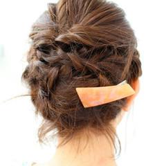 ヘアアレンジ 結婚式 女子会 ナチュラル ヘアスタイルや髪型の写真・画像