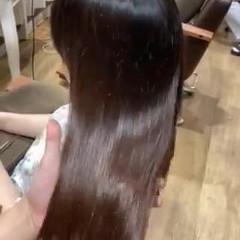 トリートメント 最新トリートメント 髪質改善 ナチュラル ヘアスタイルや髪型の写真・画像