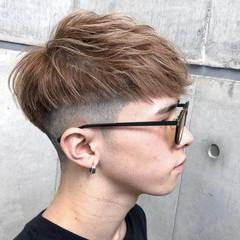 モード メンズスタイル ショート メンズマッシュ ヘアスタイルや髪型の写真・画像