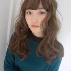モテ髪 ウェーブ コンサバ 大人かわいい ヘアスタイルや髪型の写真・画像