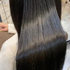 ロング ナチュラル 髪質改善 透明感カラー ヘアスタイルや髪型の写真・画像