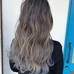 ブリーチ必須 ダメージレス 圧倒的透明感 360度どこからみても綺麗なロングヘア ヘアスタイルや髪型の写真・画像
