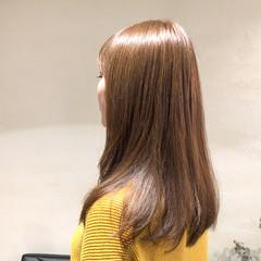 ロング フェミニン 大人ハイライト 外国人風カラー ヘアスタイルや髪型の写真・画像